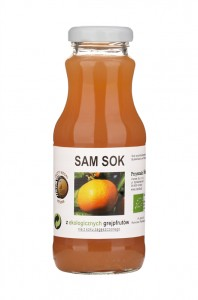 SAM SOK GREJPFRUTOWY NFC BIO 250 ml - VIANDS